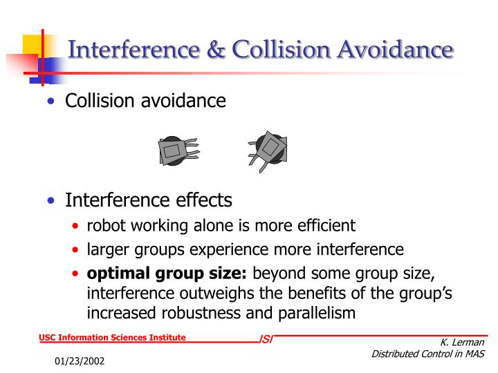 Interference & Collision Avoidance