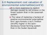 6 0 replacement cost valuation of environmental externalities cont d