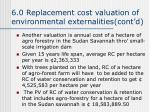 6 0 replacement cost valuation of environmental externalities cont d1