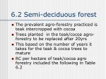 6 2 semi deciduous forest