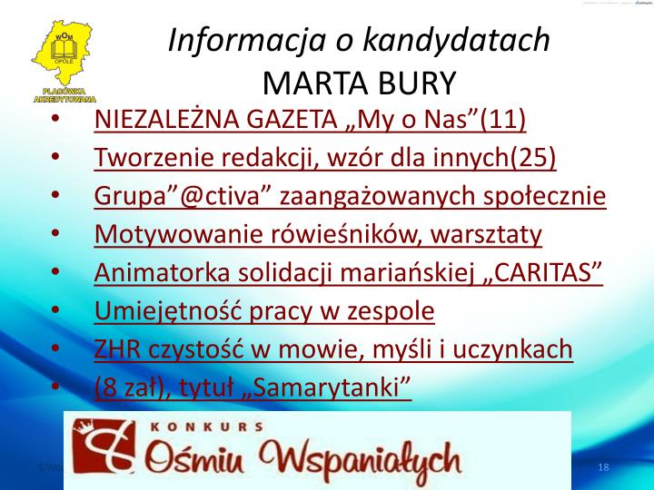 """NIEZALEŻNA GAZETA """"My o Nas""""(11)"""
