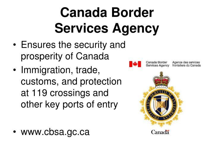 Canada Border