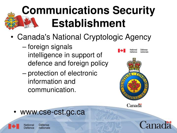 Communications Security Establishment