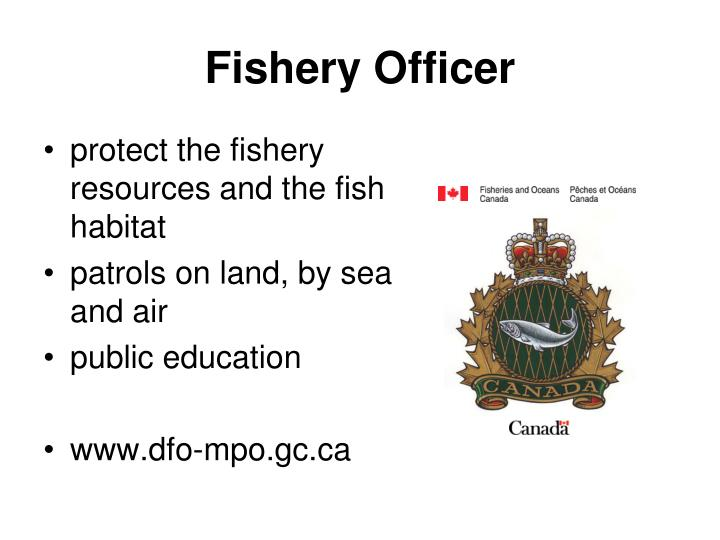 Fishery Officer