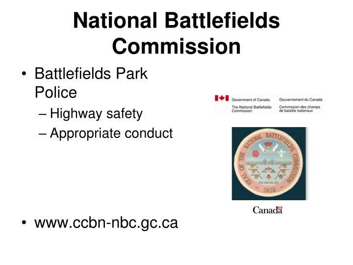 National Battlefields Commission