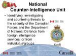 national counter intelligence unit