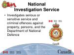 national investigation service