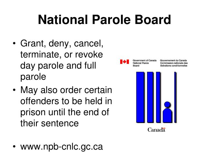 National Parole Board