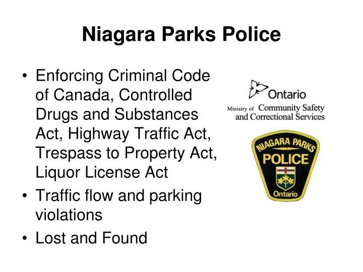 Niagara Parks Police