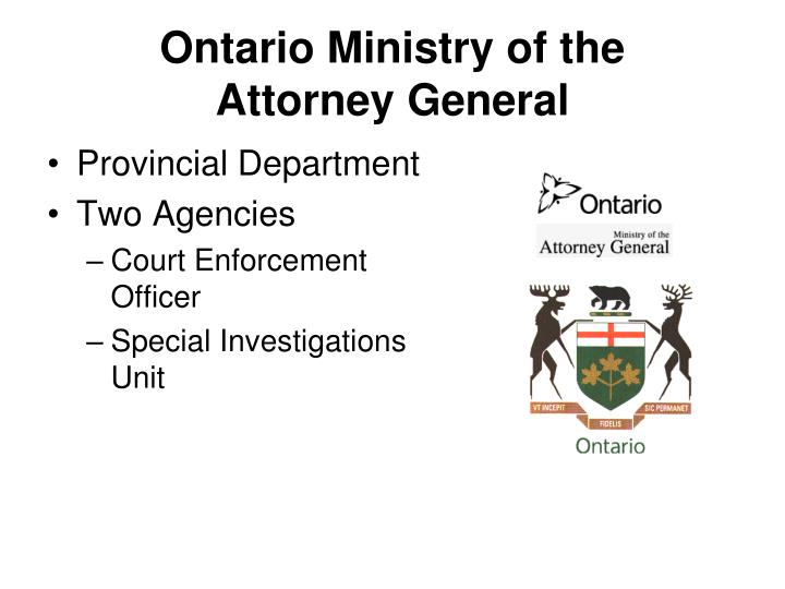 Ontario Ministry of the