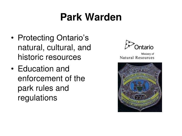 Park Warden