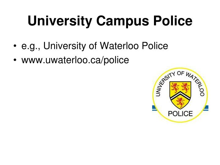 University Campus Police