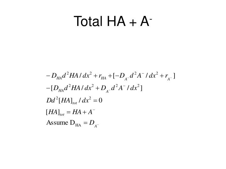 Total HA + A
