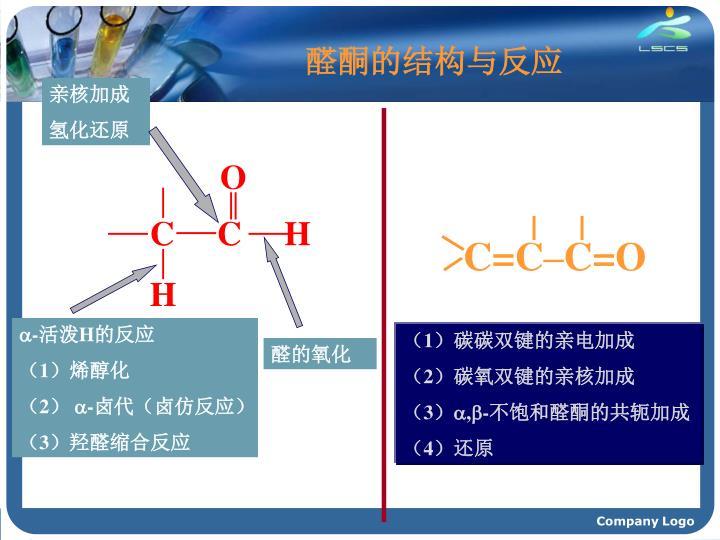 醛酮的结构与反应