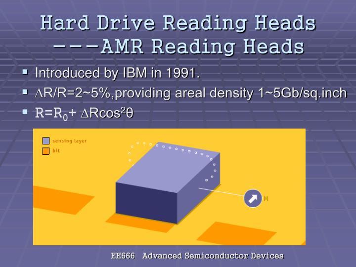 Hard Drive Reading Heads