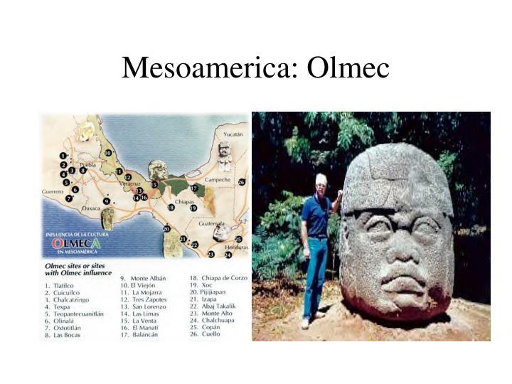 Mesoamerica: Olmec