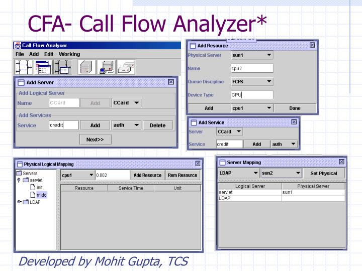 CFA- Call Flow Analyzer*