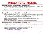 analytical model10