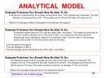 analytical model11