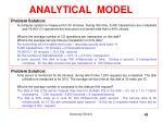 analytical model13
