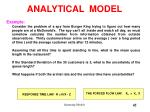 analytical model17