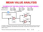 mean value analysis6