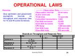 operational laws5