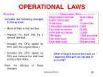 operational laws6