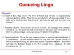 queueing lingo7