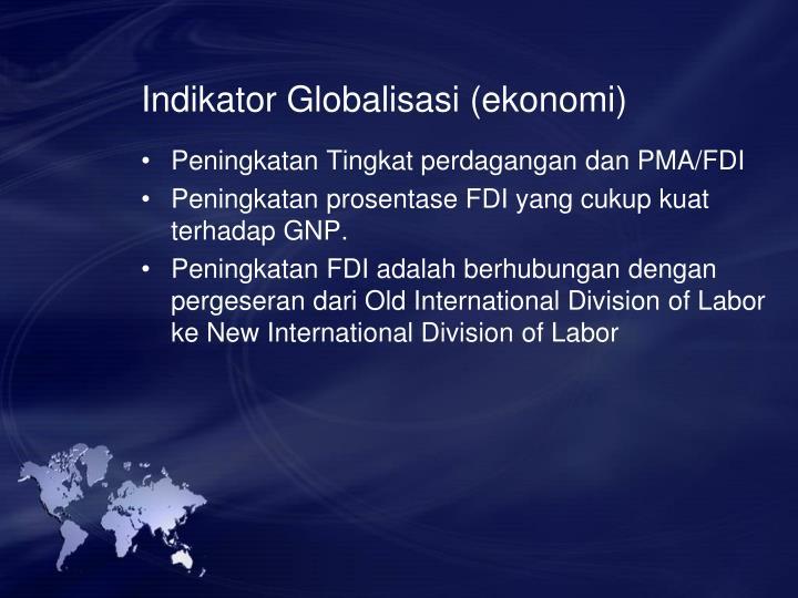 Indikator Globalisasi (ekonomi)