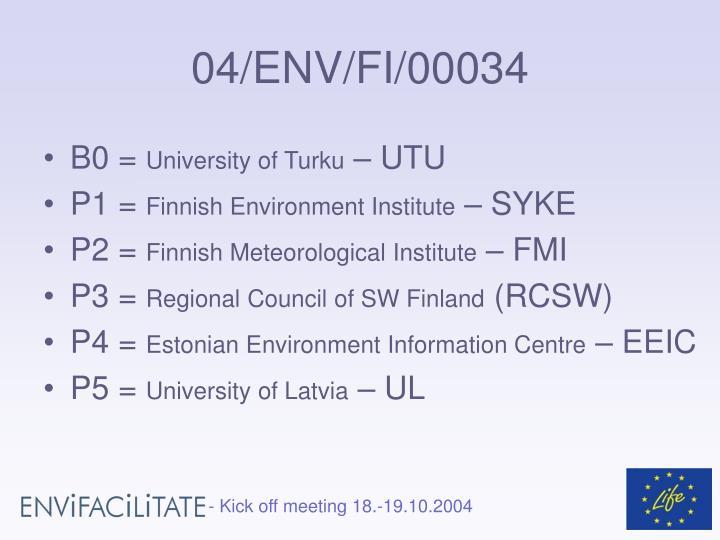 04/ENV/FI/00034