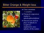 bitter orange weight loss