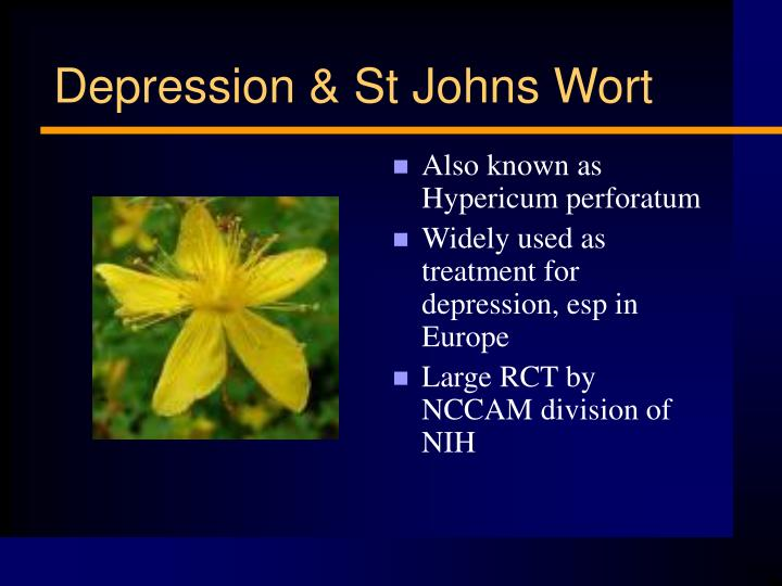 Also known as Hypericum perforatum