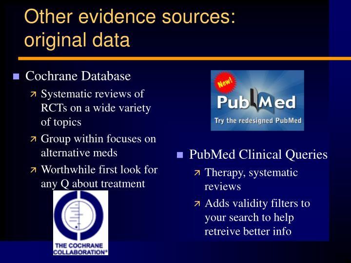 Cochrane Database