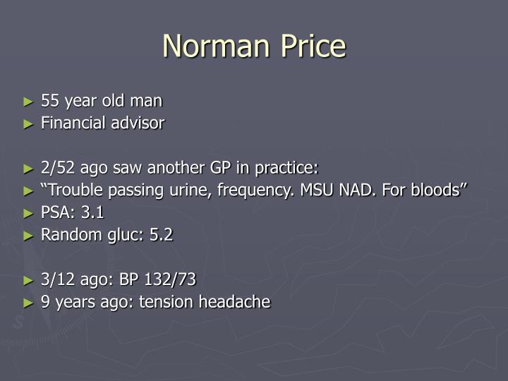 Norman Price