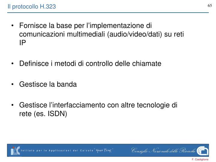 Il protocollo H.323