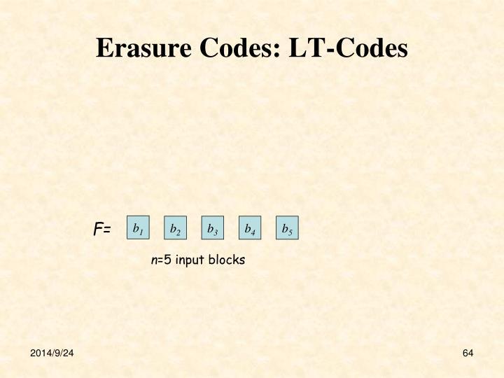 Erasure Codes: LT-Codes