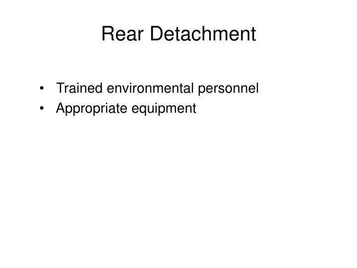 Rear Detachment