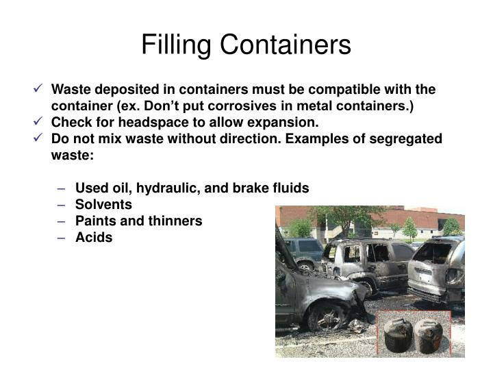 Filling Containers