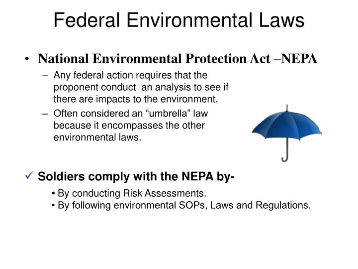 Federal Environmental Laws