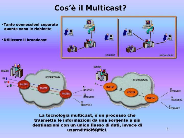 Cos'è il Multicast?