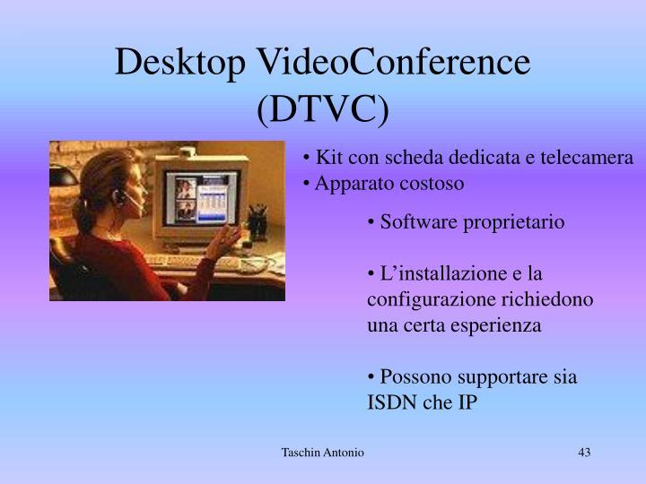 Desktop VideoConference