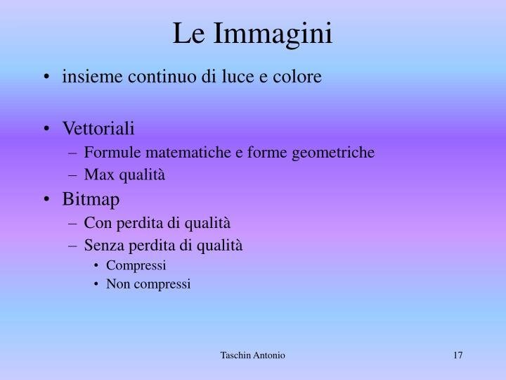 Le Immagini