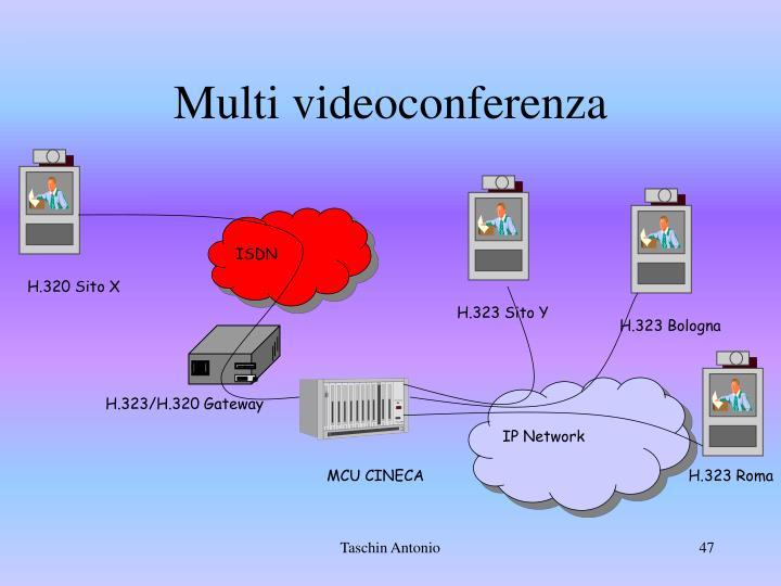 Multi videoconferenza