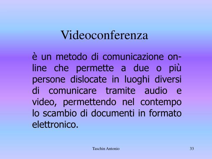 Videoconfere