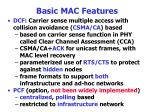basic mac features