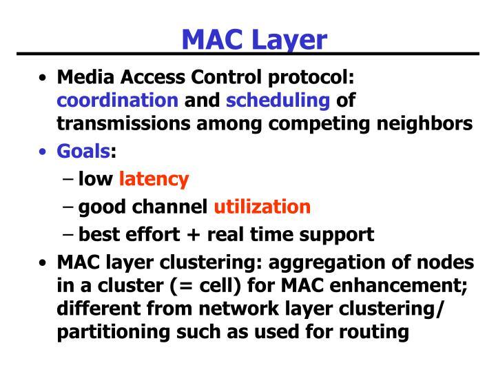 MAC Layer