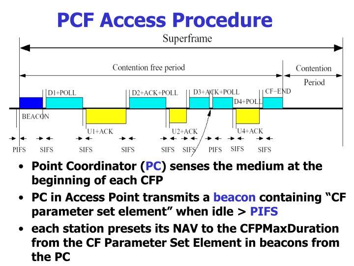PCF Access Procedure
