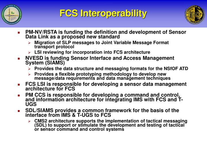 FCS Interoperability