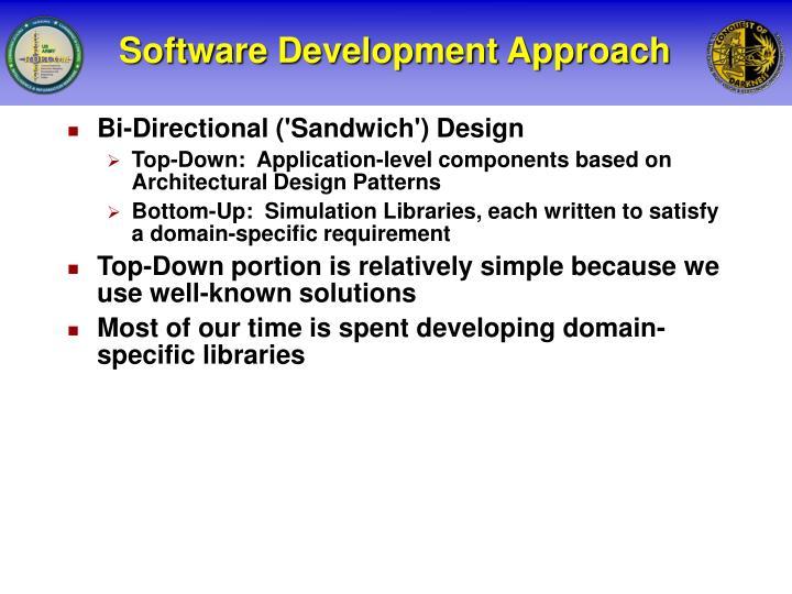 Software Development Approach